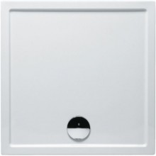 RIHO ZÜRICH 248 sprchová vanička 80x80x4,5cm, čtverec, akrylát, bílá
