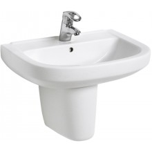 Umyvadlo klasické Kolo s otvorem Primo 60x46 cm bílá