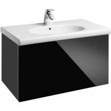 ROCA UNIK MERIDIAN nábytková sestava 846x463x505mm skříňka s umyvadlem černá 7855709969