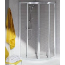 IDEAL STANDARD TIPICA sprchové dveře 90x90cm čtvrtkruh, silver brill/satinovaný plast T2353YB