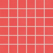 RAKO TENDENCE mozaika 30x30cm, lepená na síťce, červená