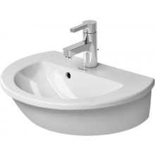 DURAVIT DARLING NEW umývátko 470x345mm s přetokem, bílá/wonder gliss 07314700001