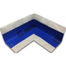 MAPEI MAPEBAND pogumovaná páska, vnitřní roh 90, modrá