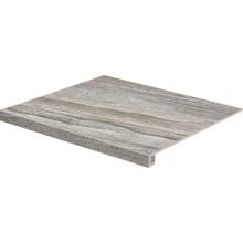 RAKO RANDOM schodovka 60x53cm, tmavě šedá