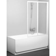 Zástěna vanová dveře Ravak plast VS2 105 1045x1400 satin/rain