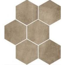 MARAZZI CLAYS dlažba, 21x18cm šestiúhelník, earth