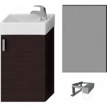 JIKA PETIT nábytková sestava 386x221x585mm, tmavý dub/tmavý dub