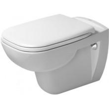 WC závěsné Duravit odpad vodorovný D-Code s hlubokým splachováním 355x540 mm bílá