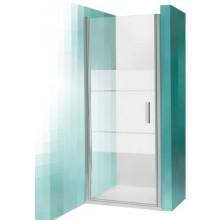 ROLTECHNIK TOWER LINE TCN1/800 sprchové dveře 800x2000mm jednokřídlé, stříbro/transparent