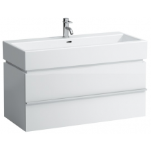 LAUFEN CASE skříňka pod umyvadlo 990x455x455mm s 1 zásuvkou, bílá 4.0128.1.075.463.1