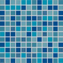 RAKO POOL mozaika 30x30cm, lepená na síťce, vícebarevná