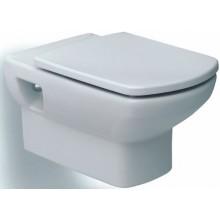 WC závěsné Roca odpad vodorovný Dama Senso Compacto  bílá-maxiClean