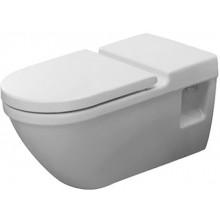 WC závěsné Duravit odpad vodorovný Starck 3 70x36 cm bílá