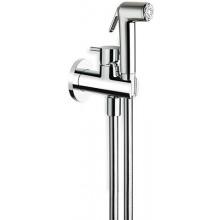CRISTINA TRICOLORE VERDE bidetová baterie s ruční sprchou 117mm chrom