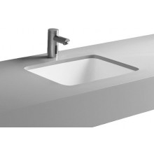 Umyvadlo zápustné Kolo bez otvoru Style 46x35 cm bílá+Reflex