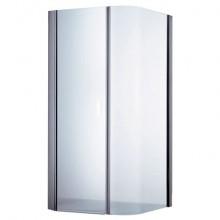Zástěna sprchová čtverec Ideal Standard sklo Moments 100x100x200cm čiré sklo/chrom