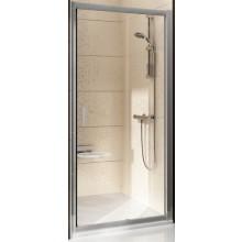 Zástěna sprchová dveře Ravak sklo BLIX BLDP2-120 1200x1900mm bílá/grape