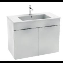 JIKA CUBE skříňka s umyvadlem 800x340x607mm, bílá/bílá 4.5375.2.176.300.1