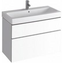 KERAMAG ICON skříňka pod umyvadlo 89x62x47,7cm, závěsná, bílá matná 841390000