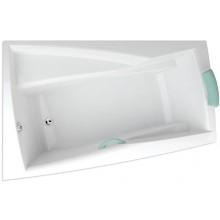 TEIKO ARA P vana 160x105x46cm, rohová, pravá, akrylát, bílá