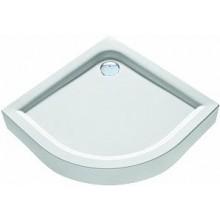 KOLO FIRST sprchová vanička 90x90cm, čtvrtkruhová, s integrovaným panelem, bílá XBN1690000
