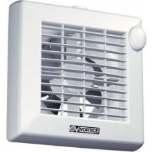 """VORTICE PUNTO M 120/5"""" AT axiální odsávací ventilátor, se žaluzií a doběhem, bílá"""