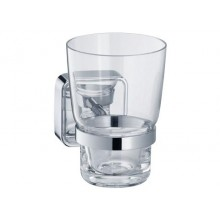 Doplněk držák se skleničkou Keuco Smart 02350019000  chrom/čiré
