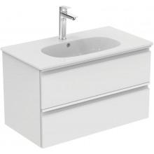 IDEAL STANDARD TESI skříňka pod umyvadlo 800x440x490mm, 2 zásuvky, bílá lesk