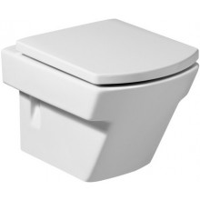 ROCA HALL závěsný klozet 355x500mm hluboké splachování, vodorovný odpad, bílá