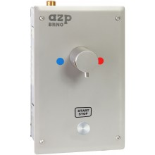 "AZP BRNO SA 1.TV sprchová armatura G1/2"", s termostatickým ventilem, podpovrchová, nerez ocel"