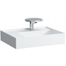 Umyvadlo nábytkové Laufen s otvorem Kartell 60x46 cm bílá-LCC