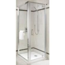 Zástěna sprchová boční Kolo sklo Geo-6 900x1900 mm stříbrná lesklá/čiré sklo