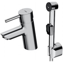 HANSA VANTIS umyvadlová baterie DN15, stojánková, páková, s ruční sprchou, chrom