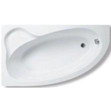 Vana plastová - tvarovaná CONCEPT 100 polorohová levá 160x90 cm bílá