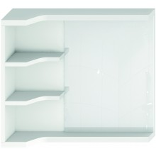 JIKA MIO zrcadlo s policemi 640x150x573mm pravé/levé bílá 4.3421.1.171.500.1