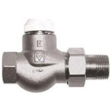 """HERZ TS-E termostatický ventil 3/4"""" plnoprůtočný, přímý, pro jednotrubkové a samotížné soustavy"""