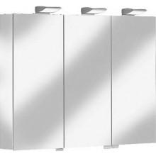 KEUCO ROYAL 35 zrcadlová skříňka 1000x740mm, s osvětlením, stříbrná