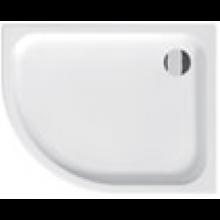 JIKA TIGO keramická sprchová vanička 1000x800x85mm asymetrická, pravá, bílá