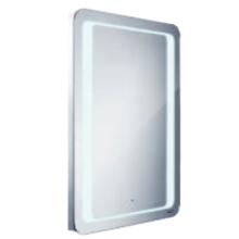 NIMCO 5001-S zrcadlo s LED osvětlením s pohybovým senzorem 600x800mm chrom ZP 5001-S