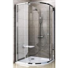 RAVAK PIVOT PSKK3-80 sprchový kout 770-795x1900mm čtvrtkruhový, bright alu/transparent 37644C00Z1
