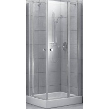 Zástěna sprchová Ideal Standard sklo Easy A 90 cm chrom/transparent