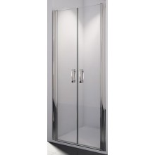 SANSWISS SWING LINE SL2 sprchové dveře 1000x1950mm dvoukřídlé, matný elox/sklo Mastercarré