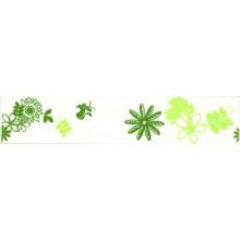 Listela Rako Flora 5x25 cm zelená
