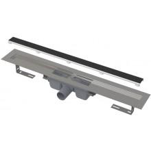 ALCAPLAST APZ15 MARBLE podlahový žlab 710mm, bez okraje s roštem pro vložení dlažby, nerez