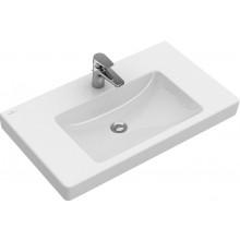 VILLEROY & BOCH SUBWAY 2.0 umyvadlo 800x470x150mm, na skříňku, s přepadem, Bílá Alpin CeramicPlus