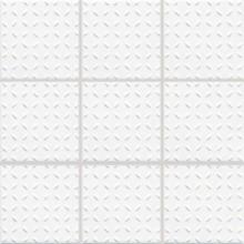 RAKO POOL mozaika 10x10cm, lepená na síťce, bílá