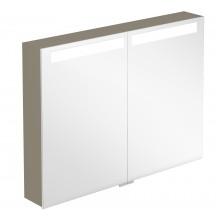 VILLEROY & BOCH VERITY DESIGN zrcadlová skříňka 800x149x746,5mm s osvětlením, bílá lesk B304F8DH