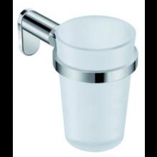 JIKA BASIC držák 120x130mm se skleničkou, chrom/matné sklo