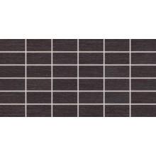 Dlažba Rako Fashion mozaika 5x10 (30x60) cm černá