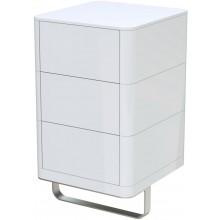 TOTO SG boční skříňka 470x500mm 3 zásuvky, highgloss white, FU10729L-VT